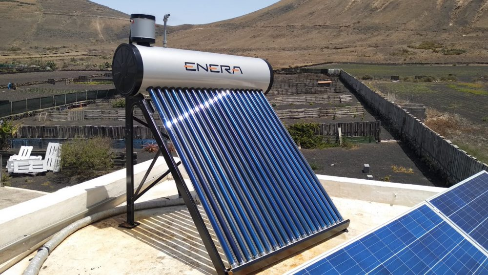 Is solar water heating a viable alternative to gas or electricity?
