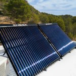 Solar energy - pool heating in Spain