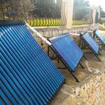 Solar energy - pool heating in Spain