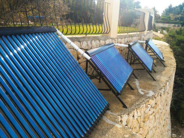 Energia solar - aquecimento de piscinas em Espanha