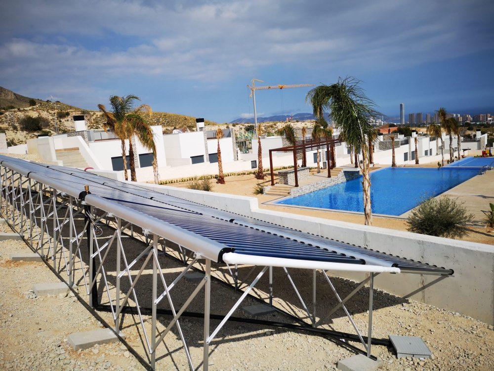 Solarwasserheizung Alegria Immobilien Finestrat
