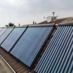 Capteurs d & #039; eau solaires