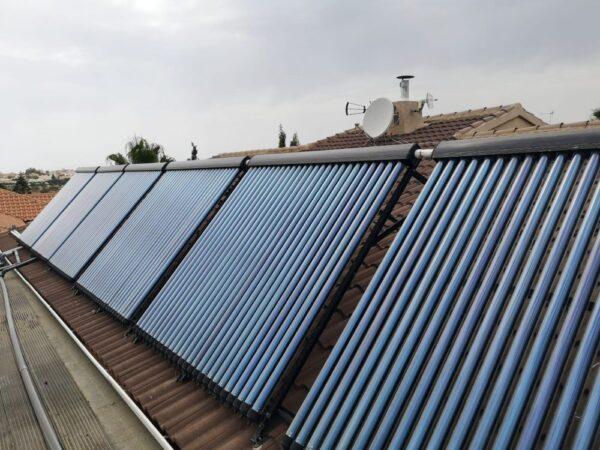 Capteurs d'eau solaires
