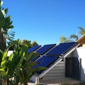 Calentamiento solar