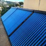 Solar heating spain