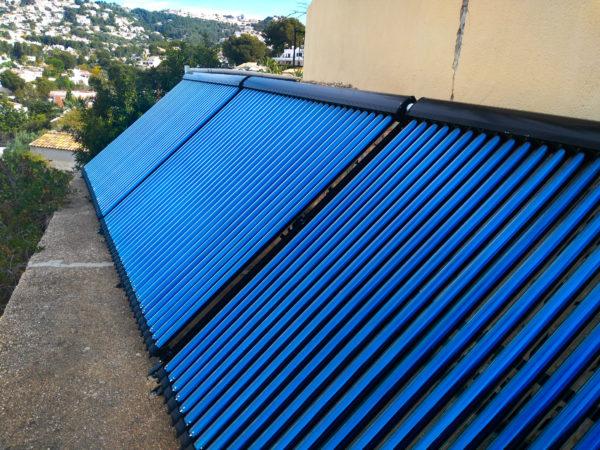 Calefacción solar españa
